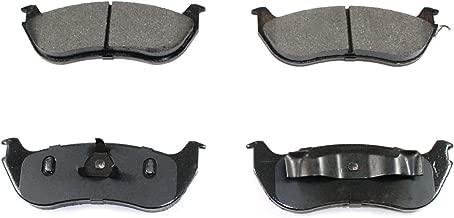 DuraGo BP881 MS Rear Semi-Metallic Brake Pad