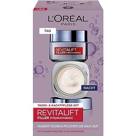 L 'Oréal Paris revitalift Filler [ha] Día y Noche Cuidado Facial de Juego