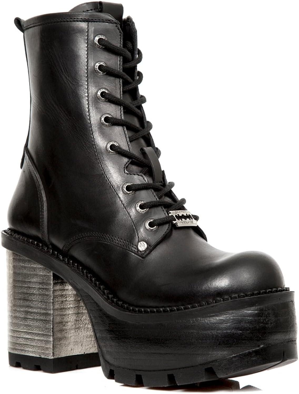 New Rock Newrock NR M.SEVE02 S1 Black Boots - Womens