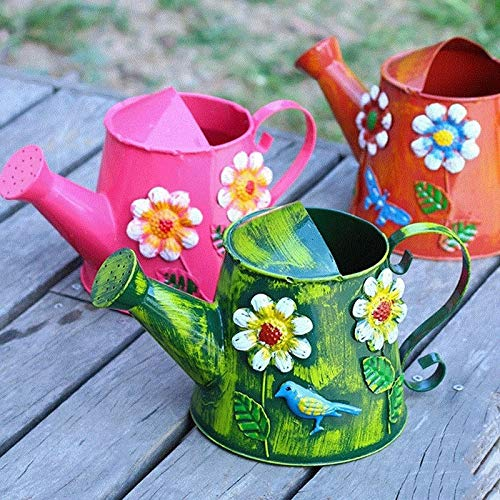 N/A gieter, bloemen, ingangskleur, retro design, gieter, tuin, irrigatie, bloemenspray, douche, gieter voor binnen en buiten.