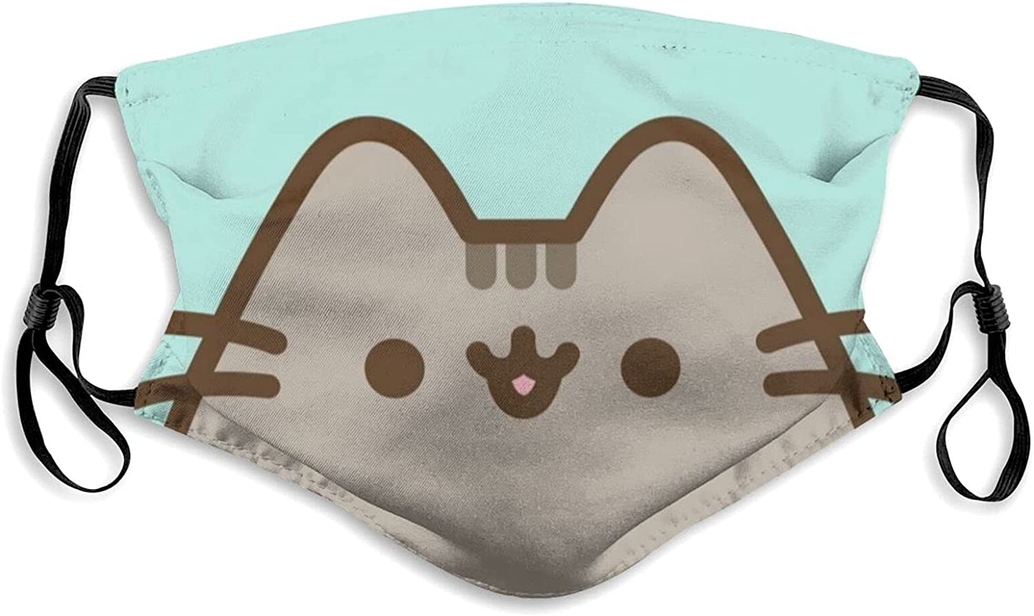 Cute NEW Cat Face Washable Mask Cloth Adjustable Max 82% OFF Bre Reusable Cotton