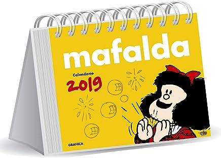 Mafalda 2019 Calendario de escritorio - Amarillo (Spanish Edition)