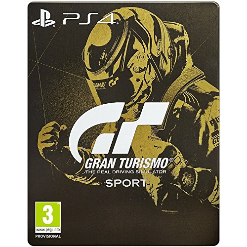 Gran Turismo: Sport Steel Book Edition (PS4) (New)
