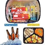 Immagine 2 jteng borsa termica porta pranzo
