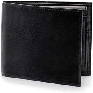 Bosca Men's Old Leather Collection - Credit Wallet w/ I.D. Passcase Black Wallets