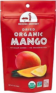 Mavuno Harvest 6 Piece Fair Trade Organic Dried Fruit, Mango, 2 Ounce