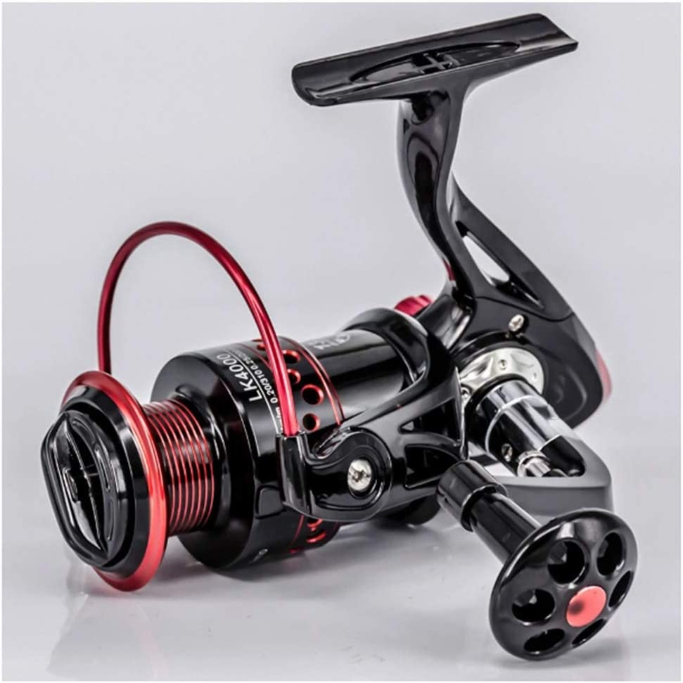 IOLMNG 13+1BB Spinning Fishing Reel 5.2:1 Directly managed store S 2000-7000 Gear Ratio Soldering
