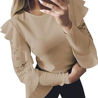 1d3232904245f DAY8 Femme Vetements Chic ete Mode Chemise Femme Soiree Blouse Femme Grande  Taille Printemps Femme t