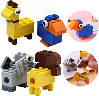 Temperamatite,BETOY 8 Pezzi Cartoon - Temperamatite a Forma Di Animale, Manuale, per Matite per,Portatile Universale Plast...