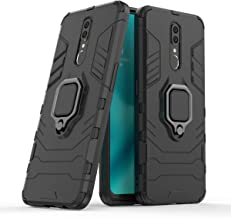 Wuzixi Case for Oppo A9X. Sturdy and Durable, Built-in Kickstand, Anti-Scratch, Shock Absorption, Durable, Cover for Oppo A9X.Black