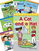 Teacher Created Materials - Classroom Library Collections: Short Vowel Rimes - 18 Book Set - Grades PreK-1 - Guided Reading Level A - D