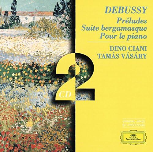 Dino Ciani, Tamás Vásáry & Claude Debussy