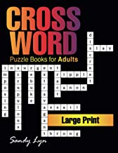 Crossword Puzzle Books for Adults Large Print: Jumbo Crossword Puzzle Books for Men & Women Adults, Hours of Fun Fill in W...