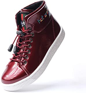 hot angcl Kids Walking High Top Sneakers Casual Shoes for Boy Girls Toddler Big Kids Comfy Sneakers