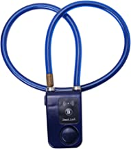 Borlai App Bediening Bluetooth Smart Lock Anti Diefstal Alarm Kettingslot Met 105Db Alarm (Blauw)