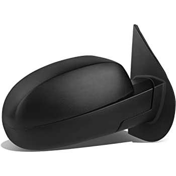 ECCPP Heated Power Black Textured Door Mirror Passenger Side Mirror Replacement fit for 2007-13 Chevy Avalanche 1500,2008-13 GMC Sierra 1500 BHBU0503A1536
