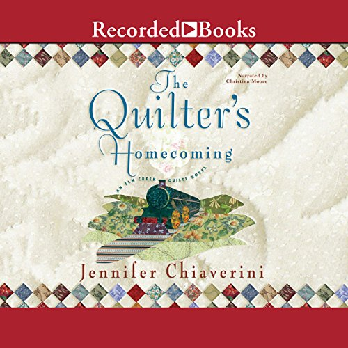 The Quilter's Homecoming audiobook cover art
