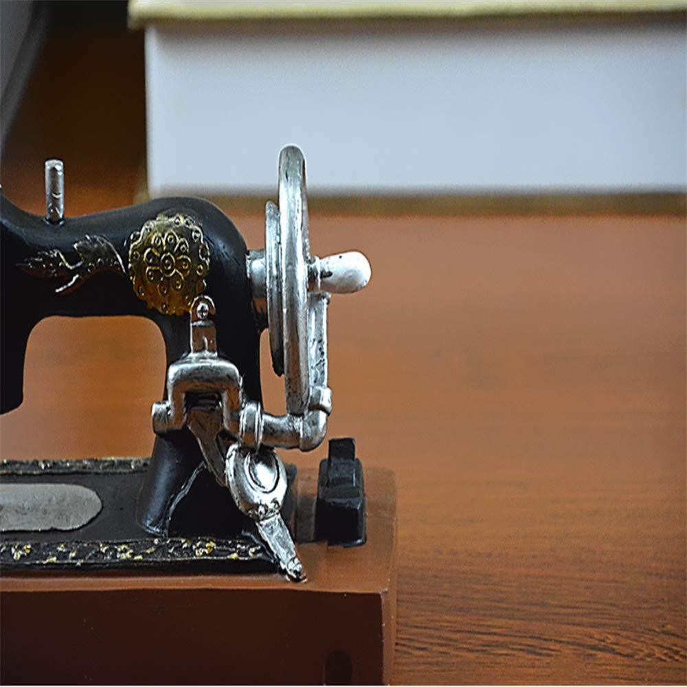 ZhongYi Antigua máquina de Coser Manualidades Adornos: Amazon.es ...