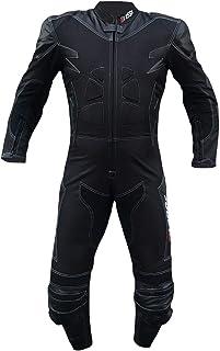 completa di protezioni CE colore Nero//Blu BIESSE blu//nero, 3XL Tuta da MOTO per adulto in pelle e tessuto divisibile in 2 pezzi giacca e pantalone Taglie XS 4XL regolabile