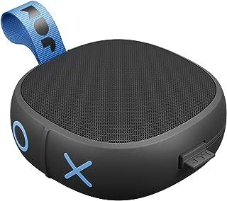 Hang Up, Shower Bluetooth Speaker 8 Hour Playtime, Waterproof, Dust-Proof, Drop-Proof IP67 Rating Built-in Speakerphone, Aux-In Port, Integrated USB JAM Audio Black HX-P101BK
