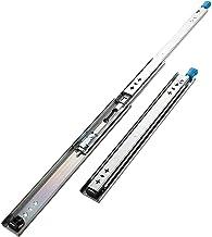 Rail volledig uittrekbaar, 10 inch met slot, kogellagers, 2 stuks, met vergrendeling, voor voertuigen gastronomie 250/100...
