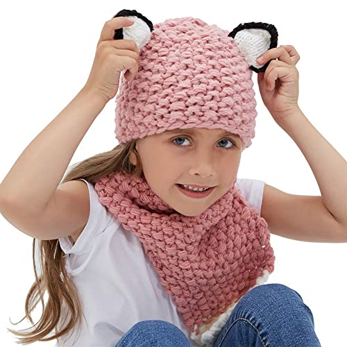 Autumn Winter Warm Children Knitted Scarf Handmade Ball Baby Neck Sleeve Candy Color Ball Scarf Kids Scarf Girl's Scarves