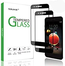(2-Pack) Beukei for LG Fortune 2 / LG Aristo 2/K8 2018 / K8 Plus 2018/ Zone 4 (Verizon) Tempered Glass Screen Protector,Glass with 9H Hardness,with Lifetime Replacement