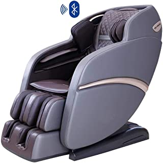 OFREE Massage Luxury Space Capsule Full Body 3D Zero Gravity Massage Chair, Neck/Shoulder/Arm/Back/Hip/Leg/Foot Massage Chair with Bluetooth Speaker (Brown)