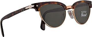 16f6bccb23 Persol PO3198S Tailoring Edition Sunglasses Havana w Green 51mm Lens 2431 PO  3198S PO 3198