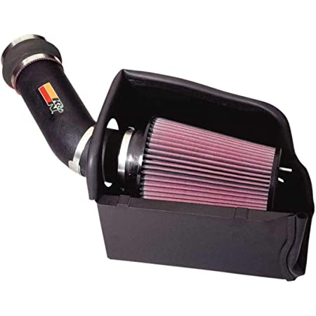 K/&N Cold Air Intake Kit: High Performance Bronco, F150, F250, F350, F Super Duty 57-2503 Guaranteed to Increase Horsepower: 50-State Legal: 1988-1995 FORD