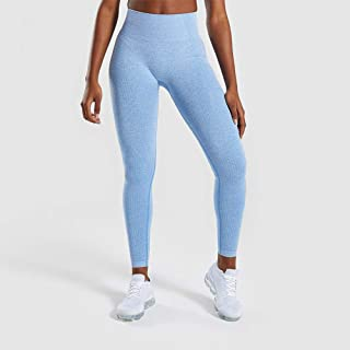 Beiziml Women Seamless Leggings Push Up Yoga Pant Sexy Dot Sport Trousers Stripe Workout Running Pant Gym Tight Stretch Fi...