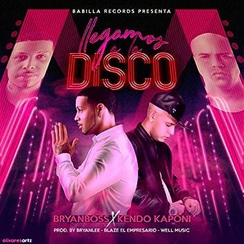 Llegamos Ala Disco (feat. Kendo kaponi)