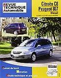 E.T.A.I - Revue Technique Automobile 669.2 - CITROEN /PEUGEOT C8/807 - 2002 à 2017