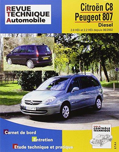 Rta 669.1 Peugeot 807/Citroën C8 Diesel Dep 06/02