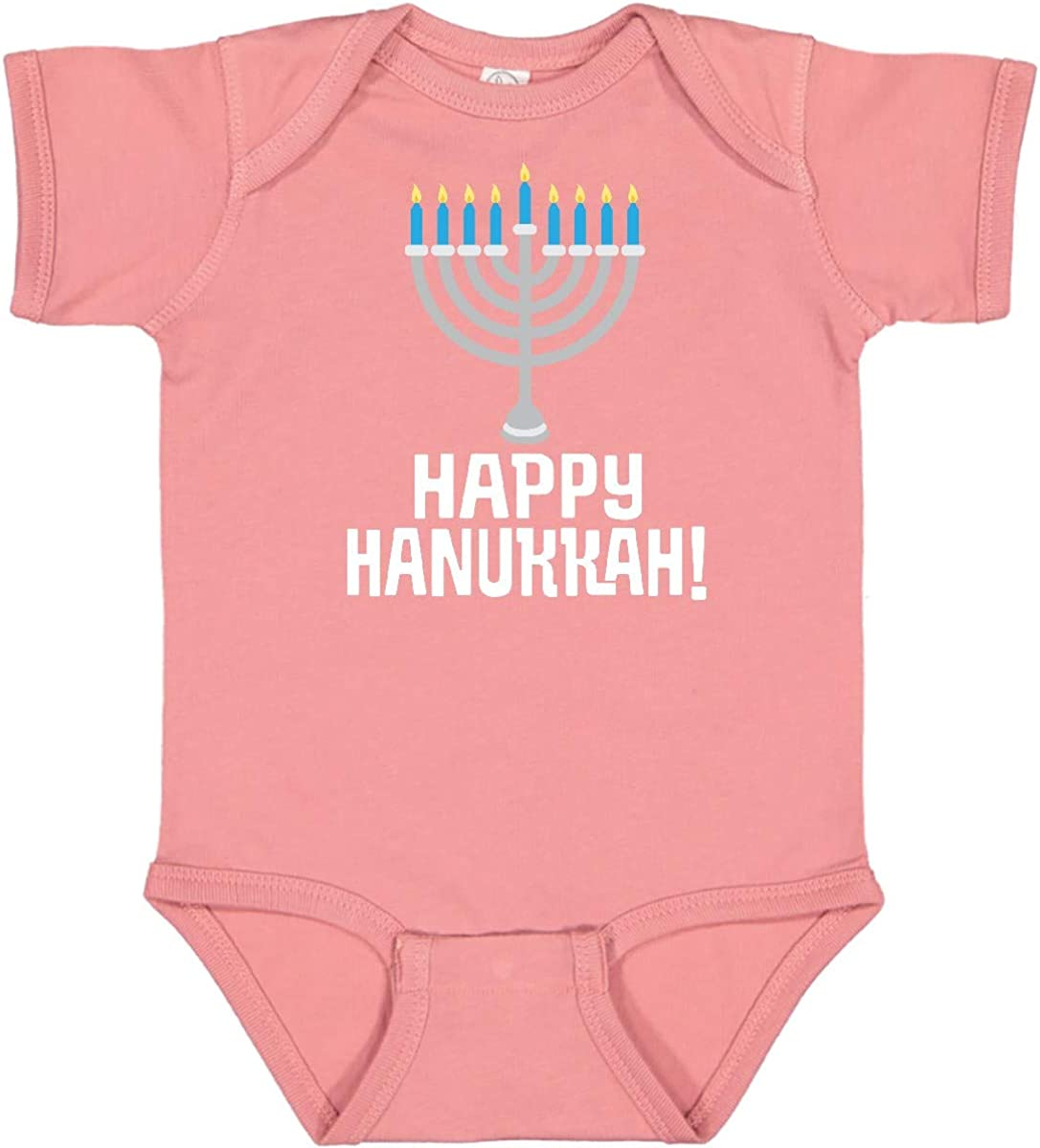 Opening large release sale inktastic Surprise price Happy Hanukkah Menorah Creeper Infant