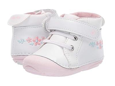 Stride Rite SM Frankie (Infant/Toddler) (White/Pink) Girls Shoes