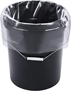 Xsourcer 5 Gallon Bucket Liner Bags for Marinating and Brining, Food Grade, BPA Free, Extra Heavy Duty Leak Proof, Great for Food Storage (24 Pack, 4 Mil)