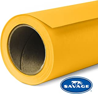Savage Seamless Background Paper - #71 Deep Yellow (107 in x 36 ft)