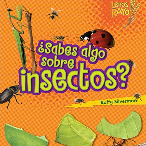 ¿Sabes algo sobre insectos? [Do You Know About Insects?] audiobook cover art
