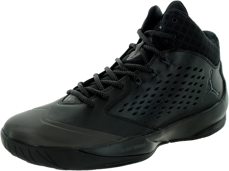 Jordanien Hoch Schwarz Anthrazit Schwarz-Basketball-Schuhe