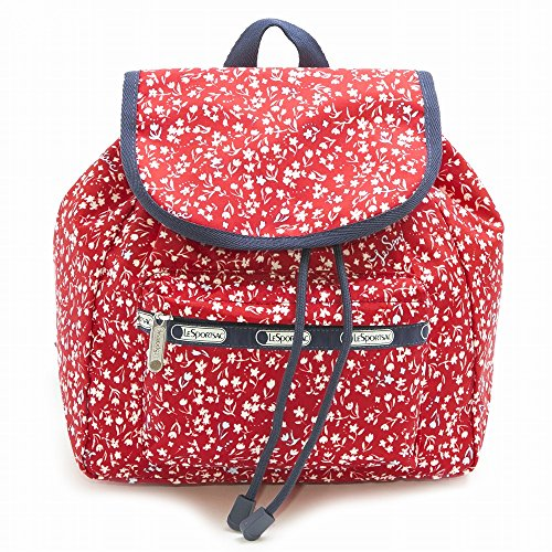 LeSportsac レスポートサック リュック 9808 Small Edie Backpack d838 Sailing Floral Red [並行輸入商品]