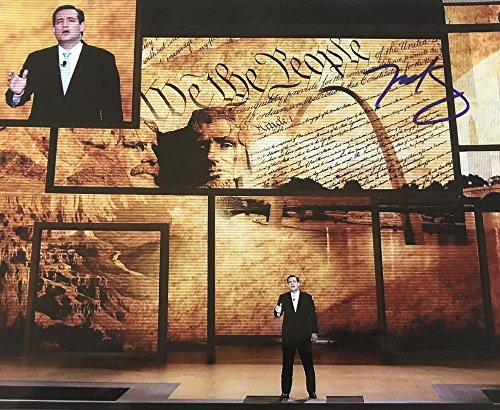 TED CRUZ SIGNED 8X10 PHOTO REPUBLICAN TEXAS SENATOR 2020 PRESIDENT? COA K3