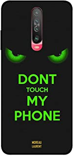 Xiaomi Poco X2 Case Cover Don't Touch My Phone Green Eyes