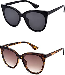 Mosanana Fashion Cateye Sunglasses for Women Classic Stylish Style MS51802