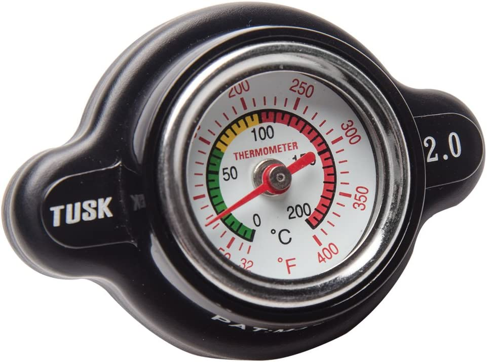 Tusk High Pressure Radiator Spring new work one after another Industry No. 1 Cap with Gauge Temperature - 2.0 Bar