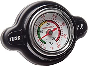 Tusk High Pressure Radiator Cap with Temperature Gauge 2.0 Bar - Fits: KTM 400 EXC 4 Stroke 2000-2007