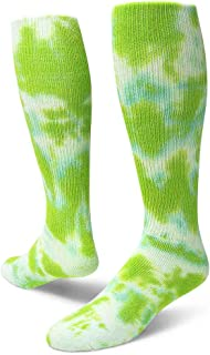Red Lion Revolution Tie Dye Cotton Athletic Tube Socks