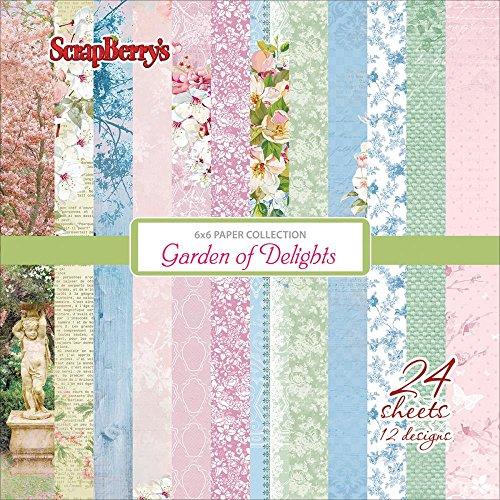 ScrapBerrys Garden of Delights Paper Pack 6