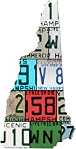 product image for NEW HAMPSHIRE License Plate Vintage Aluminum Map Sign, LIVE FREE OR DIE State Metal Sign Garage Art Man Cave Plasma Cut Aluminum UV Printed Rustic Sign Birthday Gift Patriotic Sign Holiday Gift