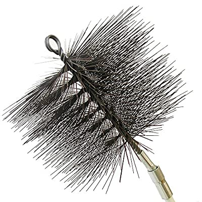 Rutland Products 16408 8-Inch Round Chimney Cleaning Brush